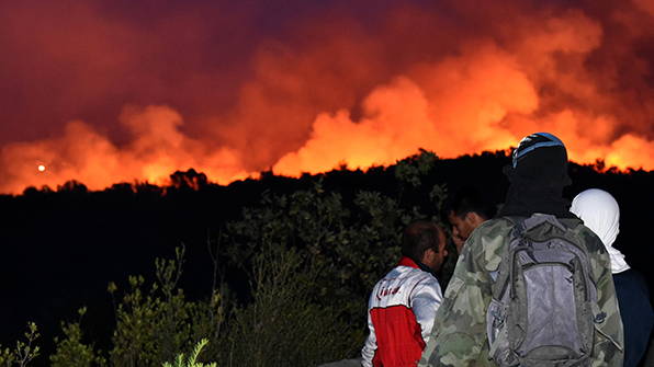 발칸반도 산불로 '몸살'…몬테네그로, 국제사회에 지원 요청