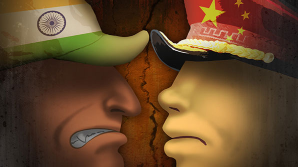 """중국-인도 국경분쟁 전운 고조…""""인도군 4만5천명 국경 이동"""""""