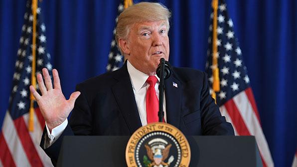 트럼프, '폭력시위' 백인우월주의 규탄 회피…비판 쇄도