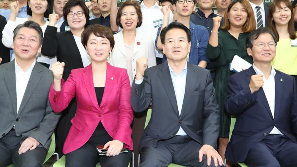 국민의당 당권주자들, 오늘 첫 TV토론회...혁신 경쟁