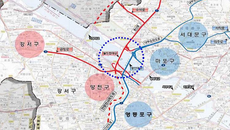 서울시, 월드컵대교 북단 2개 램프 15일 개통