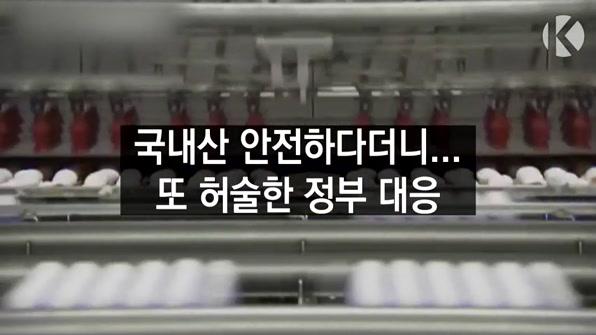 [라인뉴스] 국내산은 안전하다더니…허술한 정부 대응이 화 키웠다