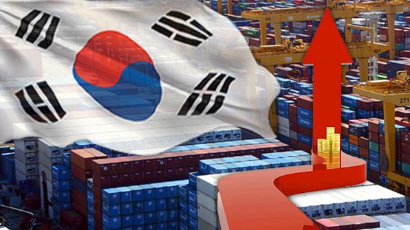 한국 수출 2분기 17% 증가…10대 수출국 가운데 1위