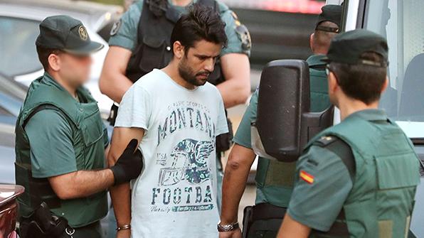 스페인 연쇄 테러범들 마드리드로 압송…법정 첫 출석