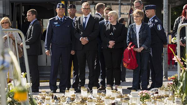 핀란드 경찰, '흉기 테러' 관련 2명 추가로 검거