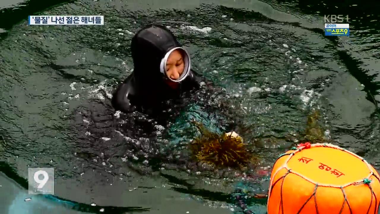 """""""해녀 될래요"""" 바다의 삶 도전장"""