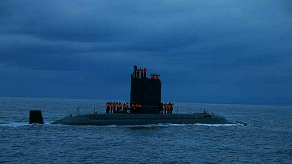 """日언론 """"北, SLBM 발사관 2~3기 갖춘 신형잠수함 완성 임박"""""""
