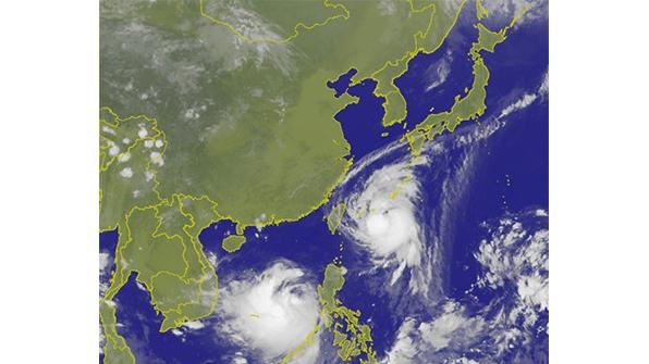 中, 쌍태풍에 초긴장…동부일대 20만 명 긴급 대피