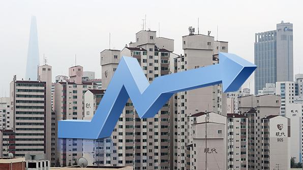 서울 아파트값 8·2대책 이후 6주 만에 첫 상승 전환