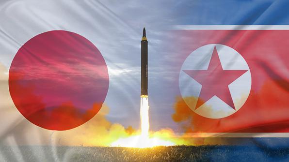 日, 北미사일 발사포착시 통과지역까지 긴급 안내한다