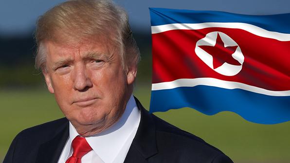 """트럼프 """"북한에서 주유하려고 줄을 길게 서있다. 딱하네"""""""