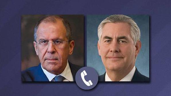 미·러 외무, 전화로 시리아·우크라이나 문제 논의