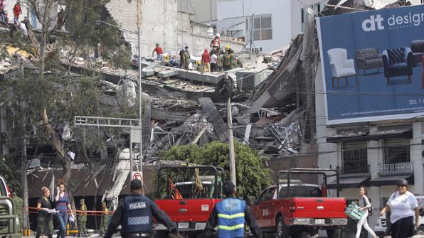 '불의 고리' 멕시코 패닉…7.1 강진 또 덮쳐 138명 사망