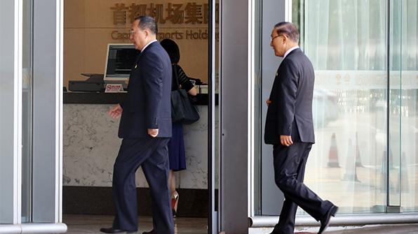 리용호 北외무상, 유엔총회 참석차 베이징 출발