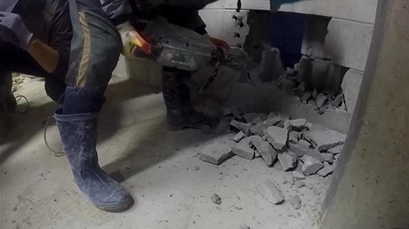 서울 강동구 아파트 공사현장서 근로자 추락해 부상