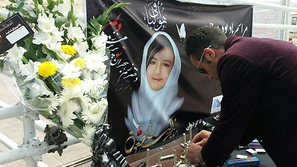 이란서 7세 여아 성폭행·살해범 형확정 열흘 만에 공개처형