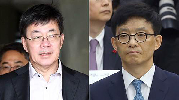 """'돈 봉투 만찬' 이영렬·안태근 """"면직 취소해달라"""" 소송"""
