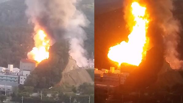 [영상] 경기 광주 포장재 공장서 폭발…26명 부상