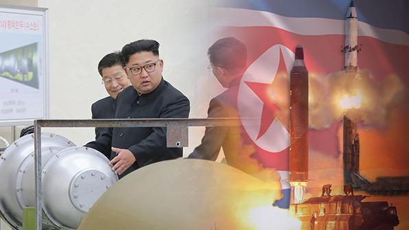 """강경화, '수소탄'발언에 """"긴장격화하는 위협적 언사…매우 유감"""""""