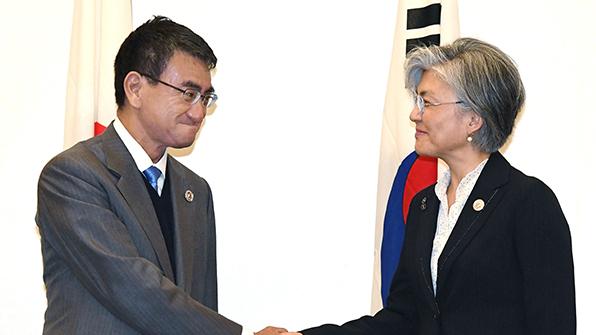 한일 외교장관, 뉴욕서 회담…北위협 공조 재확인