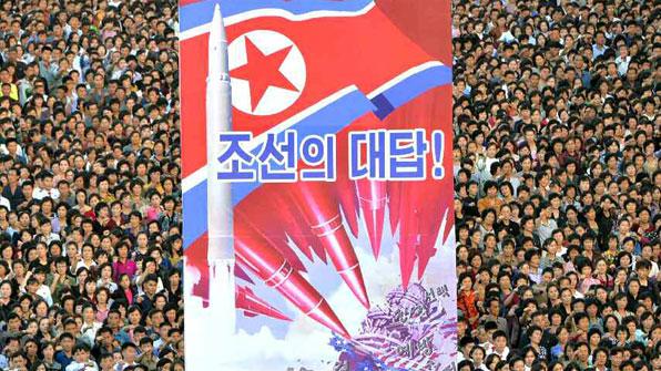 北, 평양서 10만 군중집회…'김정은 성명' 뒤 연일 반미 집회