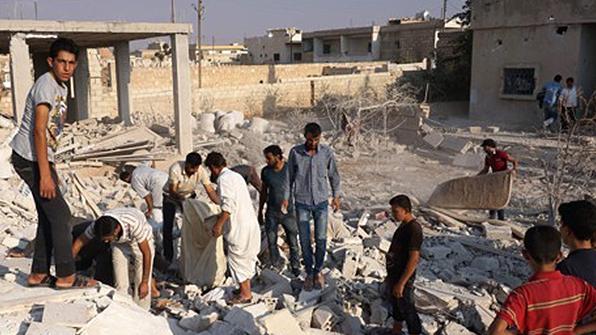"""러시아군 """"IS 장악 지역 시리아 영토 8%도 안돼"""""""