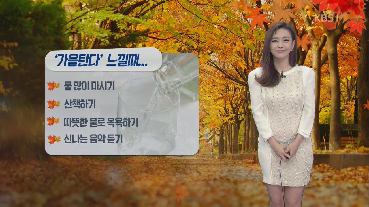 [날씨와 생활정보] '가을 탄다' 느낄 때…가을철 우울증 자가진단!
