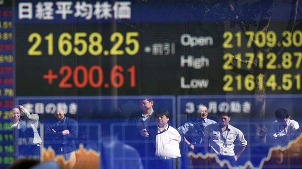 호황 일본 증시…16거래일째 상승, 기록 행진