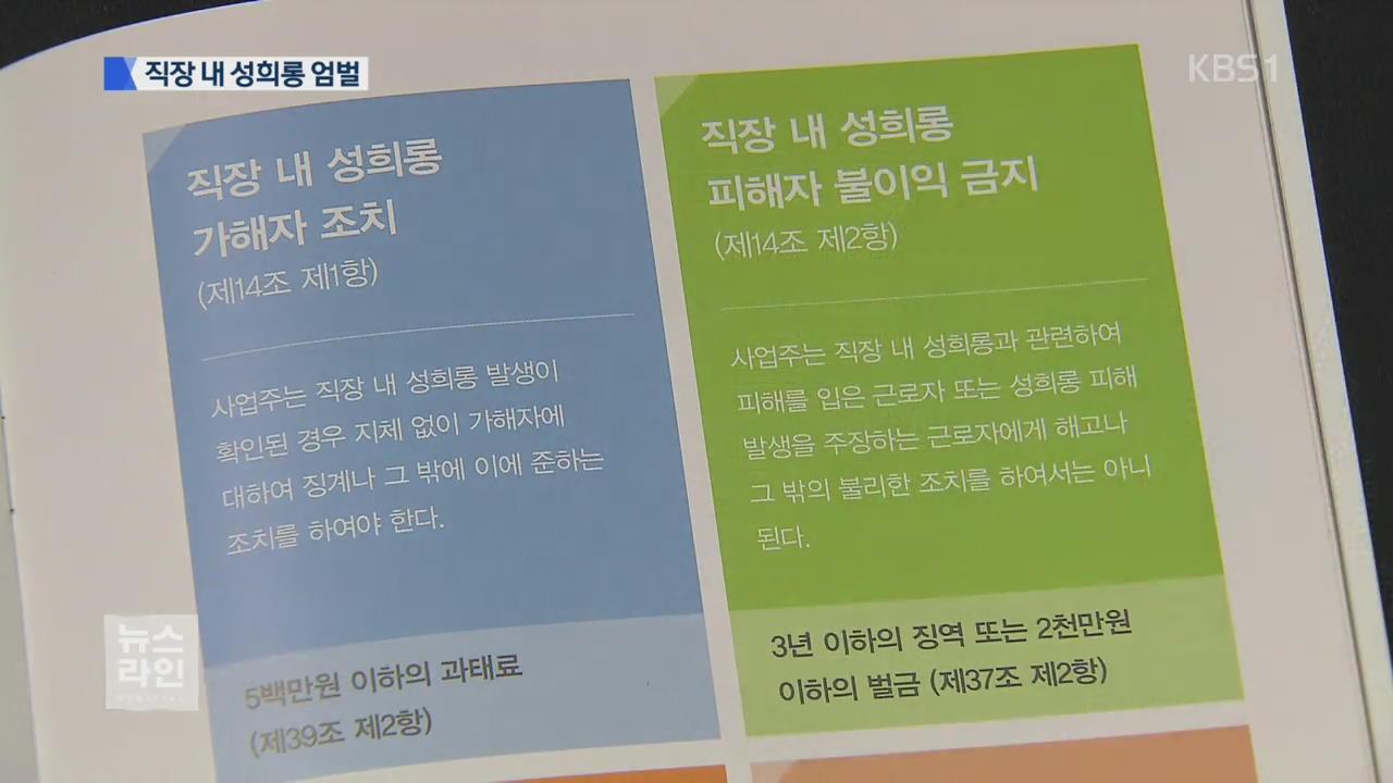 """""""사업주 징역형""""…논란 사업장 근로감독"""