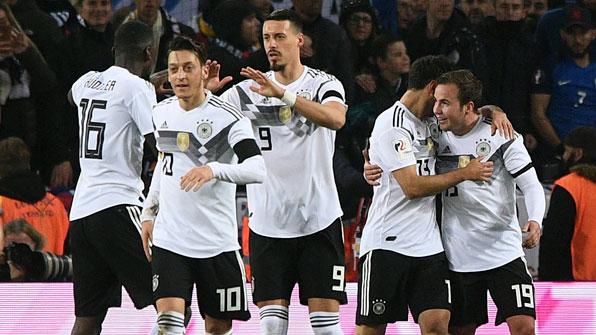 독일, 종료 직전 극장골…프랑스와 2-2 무승부