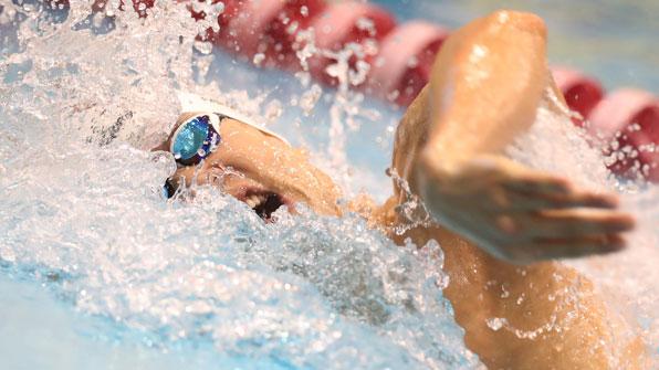 박태환, 도쿄 쇼트코스 월드컵 1,500m에서 2위