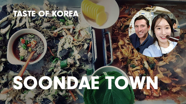 [Taste of Korea] Soondae Town