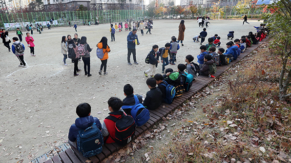 """경북교육청 """"학교수업 중단하고 학생 귀가 조처"""""""