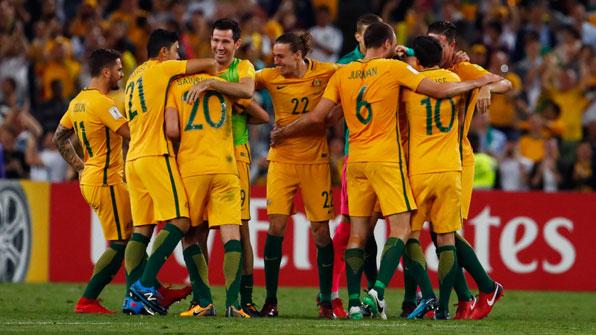 호주, 온두라스 꺾고 4회 연속 월드컵 본선행