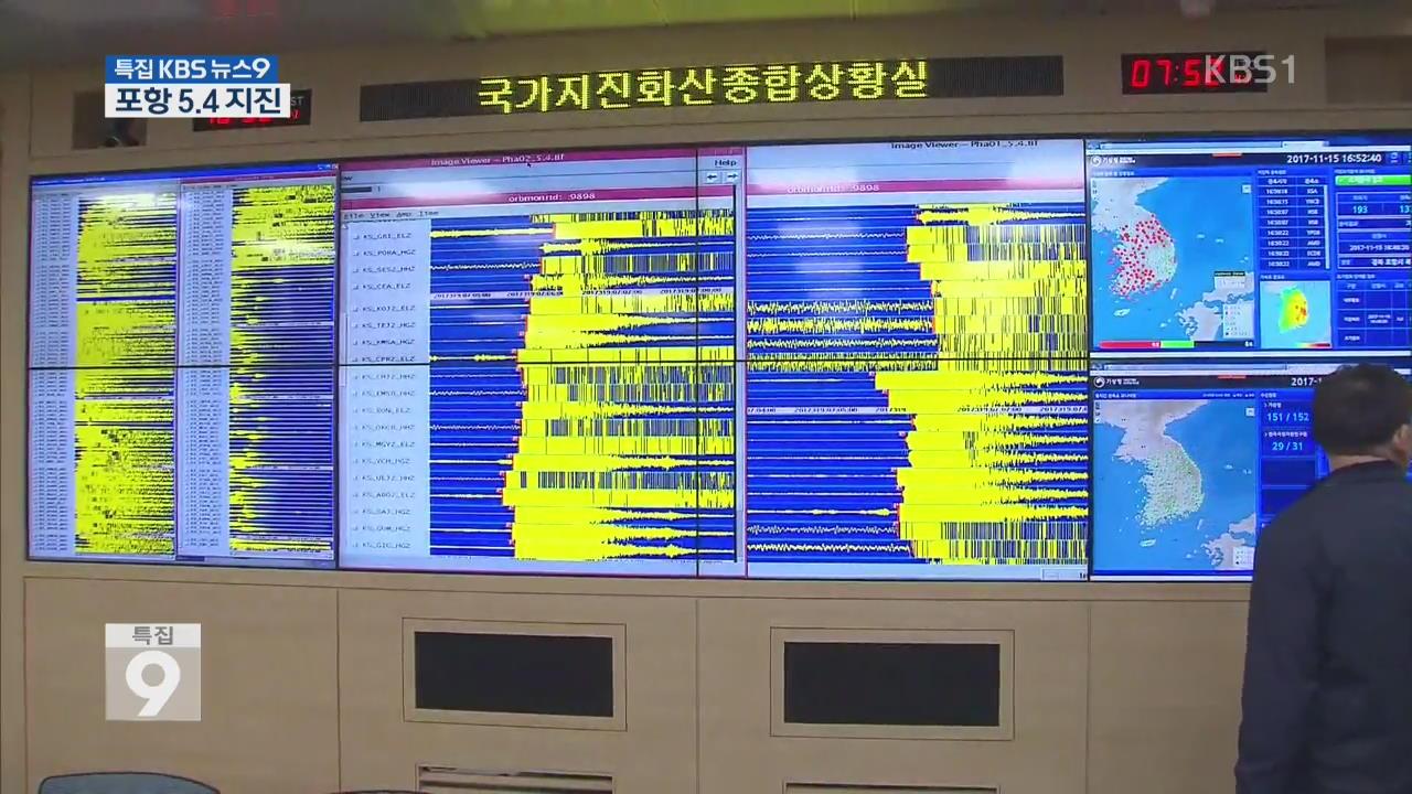 포항 규모 5.4 강진 '역대 2번째'…지금까지 여진 26차례