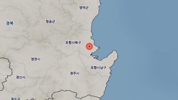 포항서 잇단 지진…이번엔 밤에 북구서 규모 3.5 여진