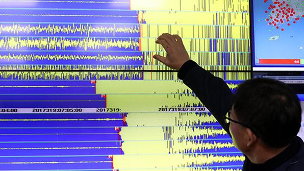 포항서 2.0대 지진 3차례 …여진 총 61회로 늘어