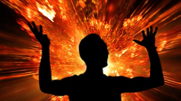식당서 부탄가스 폭발…6개월 아기 등 5명 화상