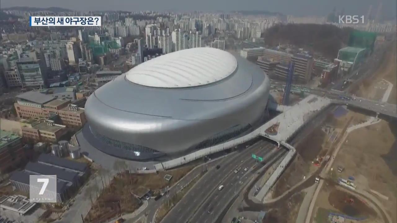 """부산 돔 구장 추진…""""비용 대비 효과 떨어져"""""""