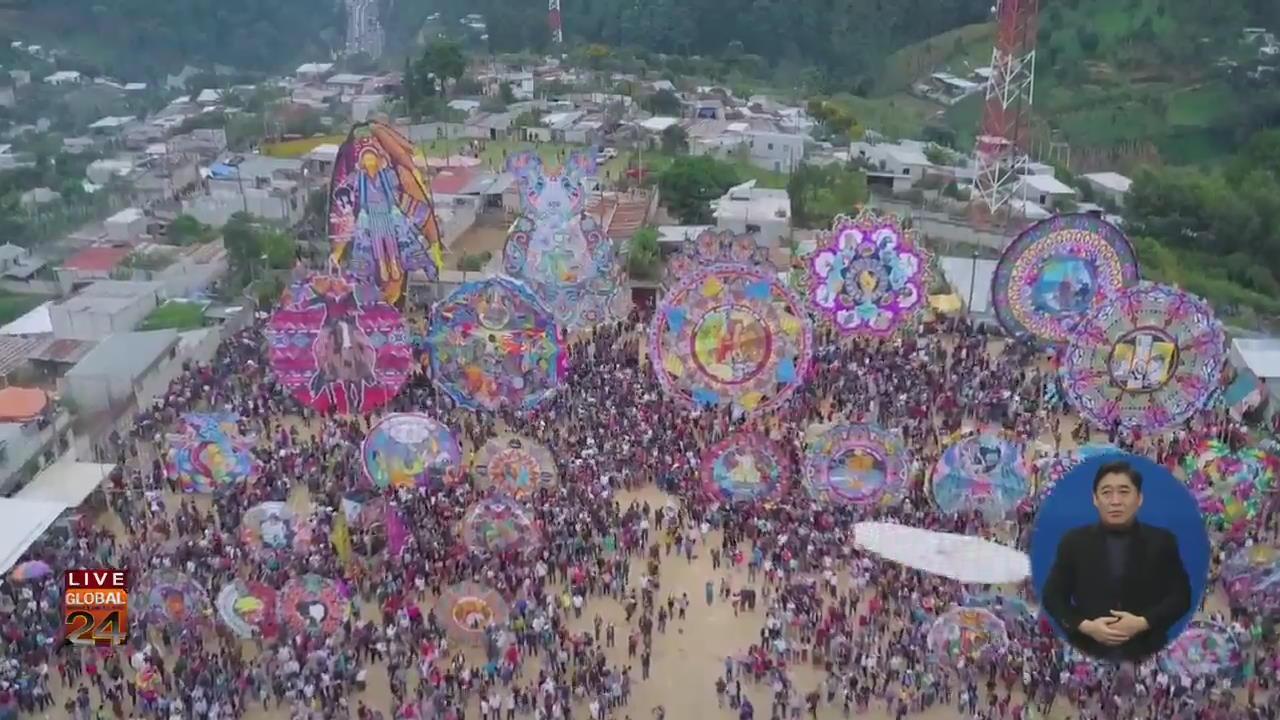 [글로벌24 브리핑] 과테말라 대형 연날리기 축제