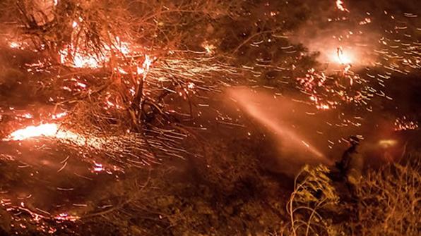美 캘리포니아 산불 샌디에이고 위협…LA 불길 다소 잡혀