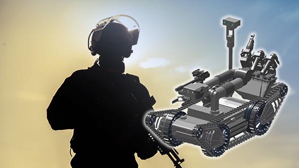 軍, '폭발물 탐지·제거 로봇' 개발 착수