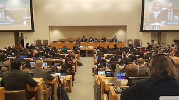 """北유엔대표부 """"인권문제 없다""""…안보리 인권논의 반박"""