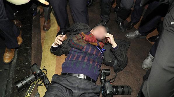 한국기자협회 '중국 경호원, 방중취재단 폭행' 규탄 성명