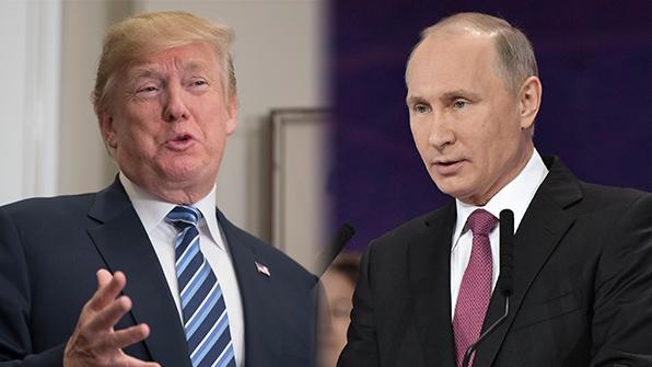 """트럼프-푸틴 전화통화…""""모두 北과의 대화·접촉 개시 지지"""""""