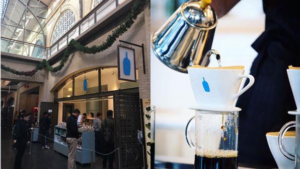 샌프란시스코의 '파란병'…커피 업계의 '애플' 될까??