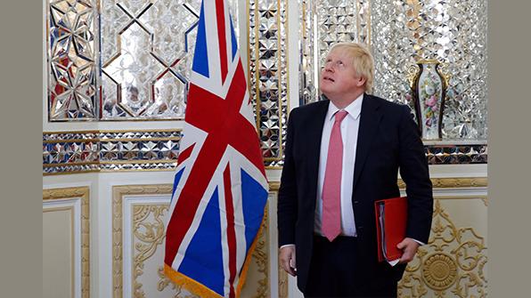 """英외무장관 """"北미사일, 6개월 내 런던 타격 가능할 수도"""""""