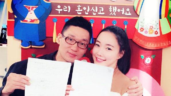 [K스타] 낸시랭, 깜짝 결혼 발표…상대는 '8살 연상' 사업가
