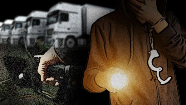 교도소 동기 3人, 블랙박스 가리고 한밤중 벌인 일은?