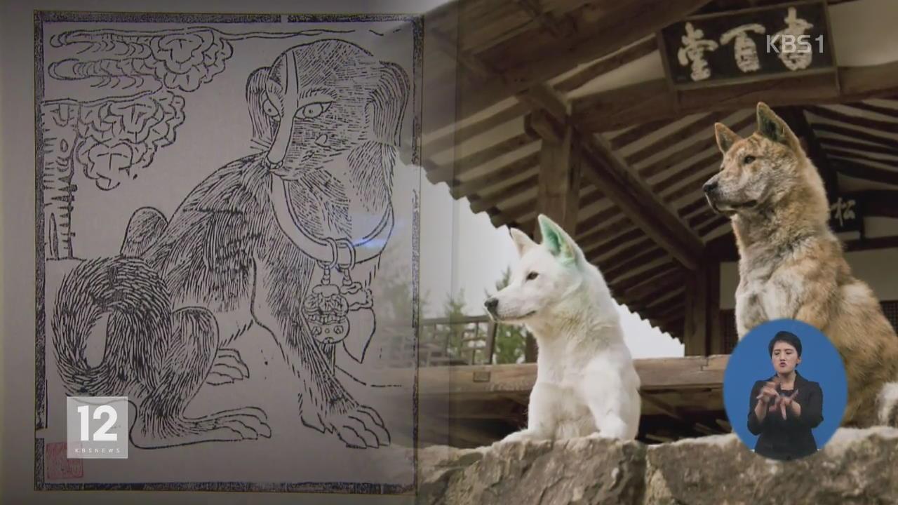 """전통문화 속의 '개'…""""충직한 동반자"""""""